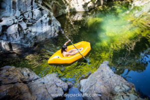 DIY Packraft Secret Spot