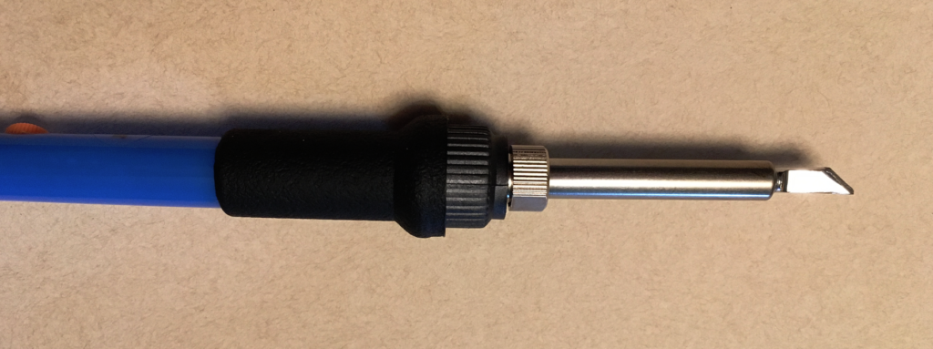 Adjustable soldering iron (comes with interchangeable tips).