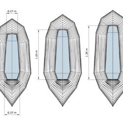 "Cockpit Lengths are - Small: 110 cm (43""); Medium: 120 cm (47""); Large: 130 cm (51"")"