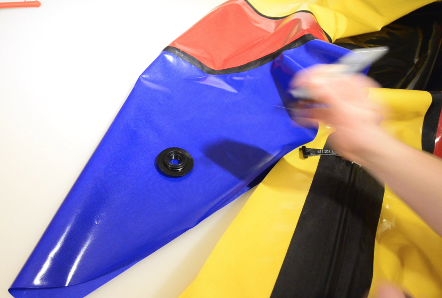 Step 5: Installing a Boston Valve – DIY Packraft